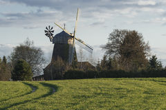 Traditional windmill in Lower Saxony Germany Stock Photo