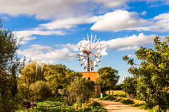 Traditional windmill on Majorca Stock Photos