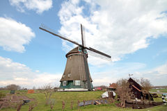 Traditional windmill in the Netherlands Royalty Free Stock Photography