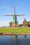 Traditional windmill in the Netherlands Royalty Free Stock Image