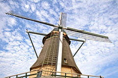 Traditional windmill in the Netherlands Royalty Free Stock Photos