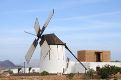 Traditional windmill, Spain Stock Photo