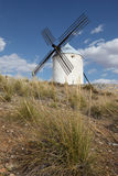 Traditional windmill in Spain Royalty Free Stock Photos