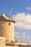 Traditional windmills in Alacati, Izmir province, Turkey. Traditional windmills in Alacati, Izmir province Stock Image