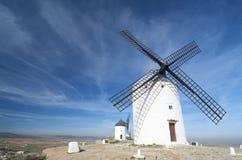 Traditional windmills Stock Image