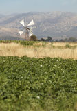 Traditional windmills in Lasithi plateau. Crete. Greece Stock Images