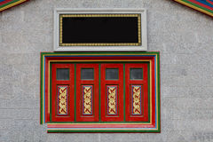 Traditional window of china. In temple Stock Images