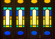 Traditional window framework in Guangzhou. Royalty Free Stock Photography