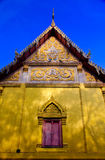 Traditional window  in Thai style at the temple of Thailand Royalty Free Stock Images