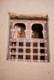 Traditional window, Timbuktu. Royalty Free Stock Photo