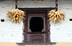 Traditional Window Stock Image