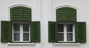 Traditional windows Royalty Free Stock Photos