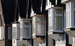 Traditional windows in England Stock Photos
