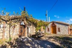 Traditional Wine Cellars - Vrbice, Czech Republic. Europe Royalty Free Stock Photo