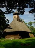 Traditional wood church in Romania. Royalty Free Stock Photography