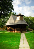 Traditional wood church in Romania. Stock Images