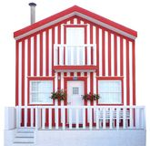 Traditional Wood House Stock Images