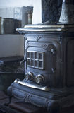 Traditional wood house fire stove oven heater cooker Royalty Free Stock Photography