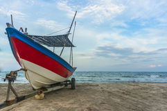 Traditional wooden boat Royalty Free Stock Photos