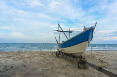 Traditional wooden boat Royalty Free Stock Images
