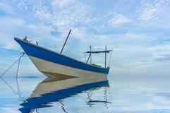 Traditional wooden boat Stock Photo