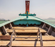 Traditional wooden boat Royalty Free Stock Photography