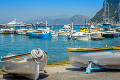 Traditional wooden boats Stock Image