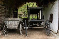 Traditional wooden cart Royalty Free Stock Image