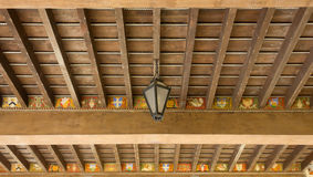 Traditional Wooden Ceiling Royalty Free Stock Photo