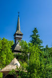 Traditional wooden church in Maramures area, Romania Stock Photography