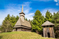 Traditional wooden church Stock Photos