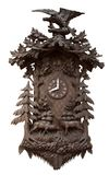 Traditional wooden cuckoo clock Stock Images