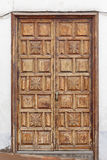 Traditional wooden door Stock Photos