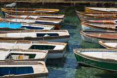 Traditional wooden fishing-boats. Stock Photography