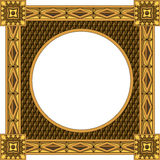 Traditional wooden frame Royalty Free Stock Photos