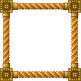 Traditional wooden frame Royalty Free Stock Photo