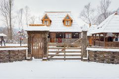 Traditional wooden home Stock Photos