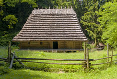 Traditional wooden house Stock Images