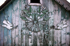 Traditional wooden house Stock Photography
