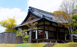 Traditional wooden house, Japan. Stock Photos