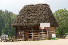 Traditional wooden house Stock Image