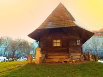 Traditional wooden house Royalty Free Stock Images