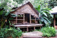 Traditional wooden house Stock Photos