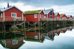 Traditional wooden houses Royalty Free Stock Photography