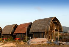 A traditional wooden hut - northern Cyprus Royalty Free Stock Photo