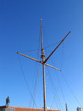 Traditional Wooden mast Royalty Free Stock Photography