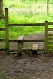 Traditional Wooden Stile. Stock Photography