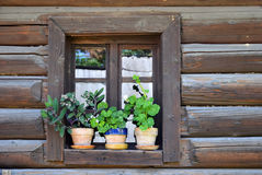 Free Traditional Wooden Window In Romania Village Stock Images - 20647004