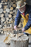 Traditional woodworker Royalty Free Stock Images