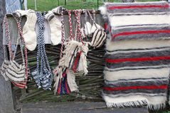 Traditional wool products Stock Photography